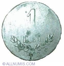 1 Leu 1906 - Cantina Expozitiunei