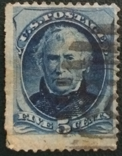 Image #1 of 5 Cents 1875 - Zachary Taylor