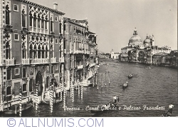 Imaginea #1 a Veneția -  Canal Grande. Palatul Franchetti (1960)