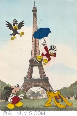 Imaginea #1 a Paris - Turnul Eiffel - La Tour Eiffel (1959)
