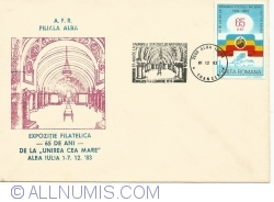 "Image #1 of Philatelic Exhibition - 65 years from ""The Great Union"" - Alba Iulia 1-7.12.'83"