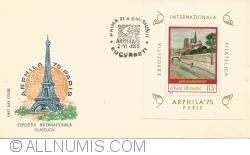Philatelic International Exhibition ARPHILA '75 - Paris
