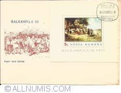 BALKANFILA III - Souvenir Sheet