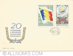 20th anniversary of the Socialist Republic of Romania