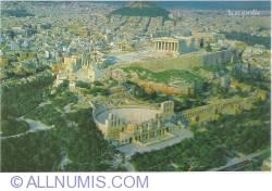 Imaginea #1 a Athens-Acropolis aerial view