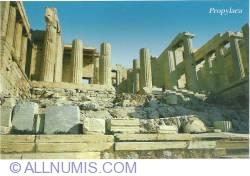 Imaginea #1 a Athens-Acropolis propylaea