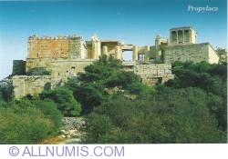 Athens-propylaea Temple of Athena Nike