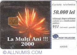La mulţi ani 2000!