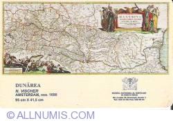 Muzeul Naţional al Hărţilor şi Cărţii Vechi (13) - Harta Dunării