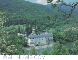 Cozia Monastery - View over the Olt River