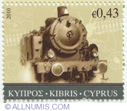Image #1 of € 0,43 Steam locomotive 2010