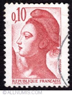 Imaginea #1 a 0.10 Fr Liberté de Gandon 1982