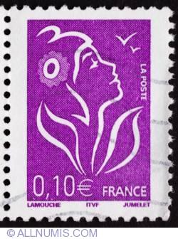 0.10 € Marianne de Lamouche 2005