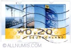 Image #1 of 0,20€ 2012 Post tower - Bonn