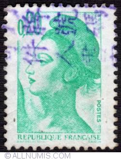 Imaginea #1 a 0.20 Fr Liberté de Gandon 1982