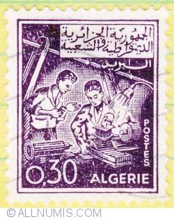 Image #1 of 0,30 Dinar Mechanics 1964