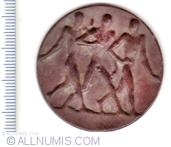 """Image #2 of German Empire, Dresden, honorary award medal of the 1923 """"Annual Sport Show"""" Honorific Price"""