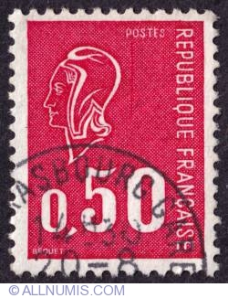 Imaginea #1 a 0,50 Fr Marianne de Béquet 1971