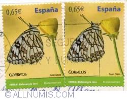 Image #1 of 0.65€ 2011-Melanargia ines