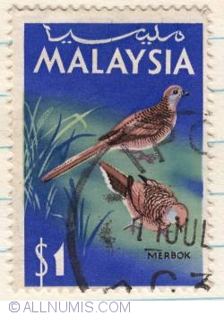 Image #1 of $1 1965 - Zebra Dove