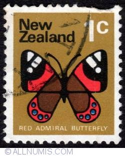 Image #1 of 1¢ 1970 - Red Admiral Butterfly