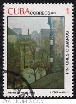 Image #1 of 1  Avenue du Maine, Paris - Victor Manuel 1979
