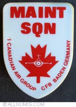 Imaginea #1 a 1 Cag Maintenance Squadron 1977