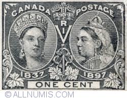 1 Cent 1897 - Queen Victoria