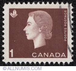 1¢ Elizabeth II 1963