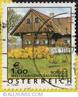 Image #1 of 1€  Farmhouse in Rossegg -Styria 2003