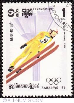 1 riel Ski jumping 1984