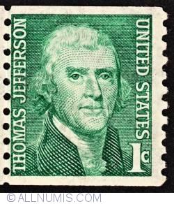 Image #1 of 1 Cent 1965 - Thomas Jefferson