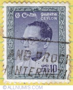 Image #1 of 10 cents Bandaranaike 1961