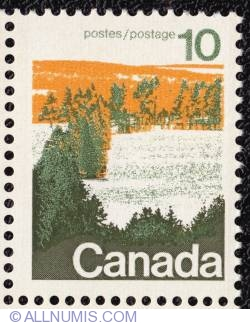 Image #1 of 10¢ Forests of Central Canada 1972