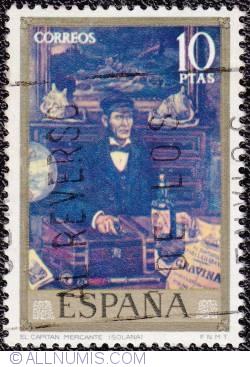 Image #1 of 10 ptas El Capitan mercante (solana) 1972