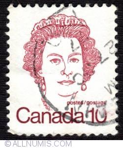 Imaginea #1 a 10¢ 1976 - Queen Elizabeth II (used)