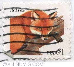 Image #1 of $1.00 1998-Red Fox