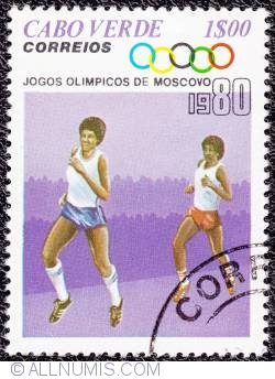 Image #1 of 1$00 Moscow Olympics-Running 1980