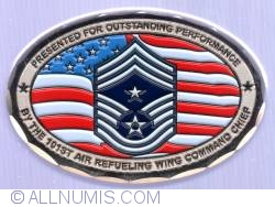 Imaginea #2 a 101st Air Refuelling Wing Command Chief