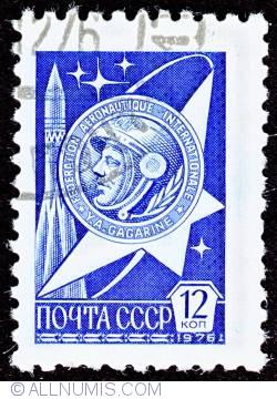 12 Kopeks - Yuri Gagarin's Gold Medal