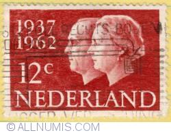 Imaginea #1 a 12c 1962 - Netherlands Royal couple