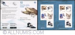 P 2017 Birds of Canada - Gyrfalcon, Falco rusticolus NT