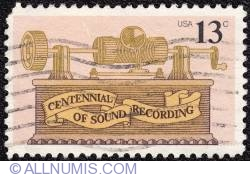 Image #1 of 13¢ Early Gramophone 1977