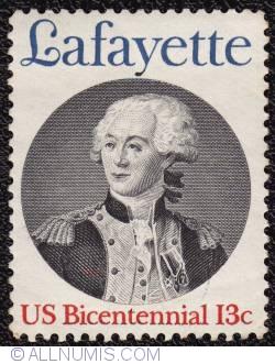 Image #1 of 13¢ Lafayette 1977