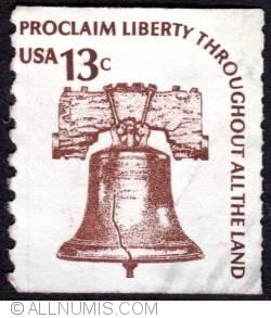 Image #1 of 13 Centi Proclamarea libertatii pe tot teritoriul 1975