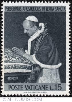 Image #1 of 15 L. Pope Paulus VI- Pilgrimage in Holy Land 1964