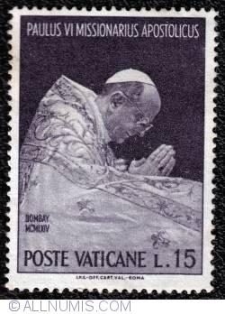 Image #1 of 15 L. Paulus VI at prayer, Bombay 1964
