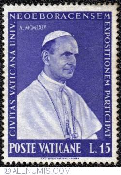 Image #1 of 15 L. Paulus VI-EXPO-New York 1964