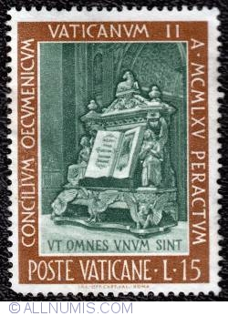 Imaginea #1 a 15 Lire 1966 -  Second Vatican Council