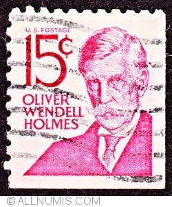 Image #1 of 15¢ Oliver Wendell Holmes 1968